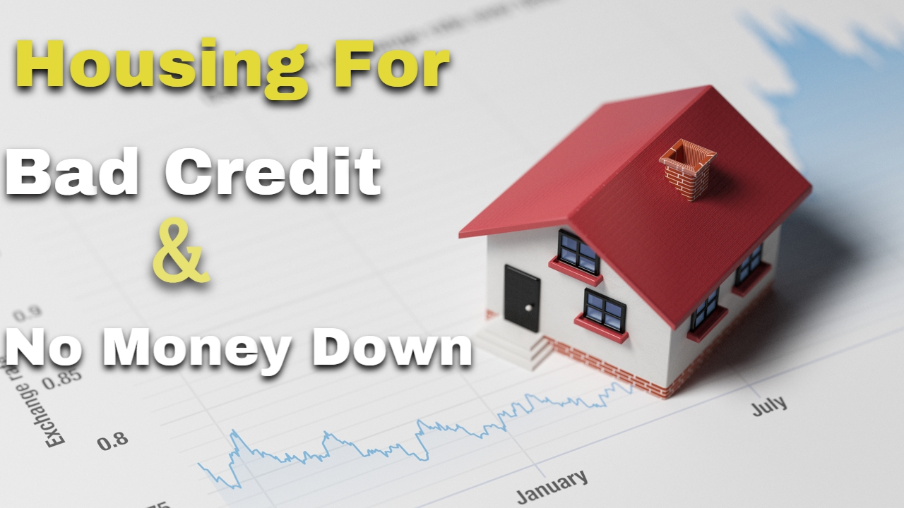 buy house with bad credit no money down