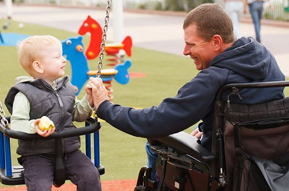 social security benefits for child of disabled parent
